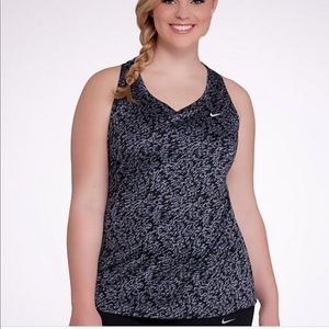 Nike dry-fit plus size tank top
